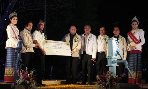 กรมทรัพยากรน้ำบาดาลเนรมิตอุโมงค์น้ำบาดาลจำลองที่ใหญ่ที่สุดในประเทศไทย ในงานราชพฤกษ์ 2554